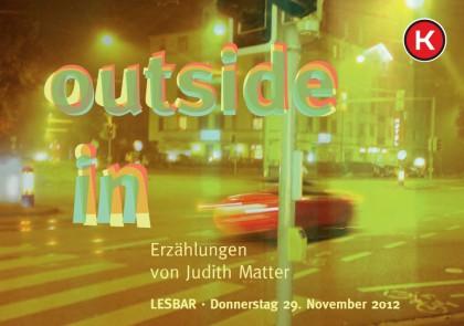 29.11. – Lesung in Zürich